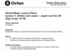 Britten and Japan | Recurso educativo 75998