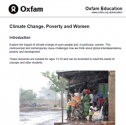 Lesson plant: Climate change, poverty and women | Recurso educativo 77485