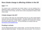 How climate change is affecting children in the UK | Recurso educativo 77527