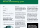 Lesson plan: Water vulnerability game | Recurso educativo 78028
