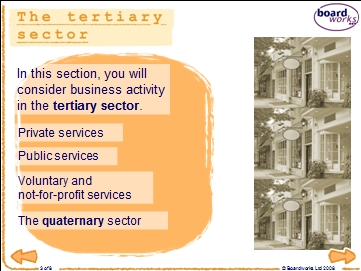 Tertiary sector activities | Recurso educativo 89980