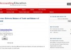 Difference Between Balance of Trade and Balance of Payment | Recurso educativo 89982
