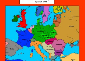 Animated Map of World War Two | Recurso educativo 97879
