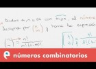 Factorial y número combinatorio | Recurso educativo 107816