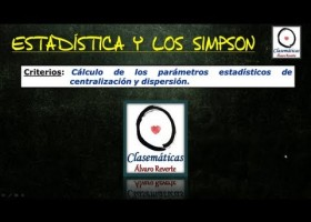(Estadística) La Estadística y los Simpson | Recurso educativo 107830