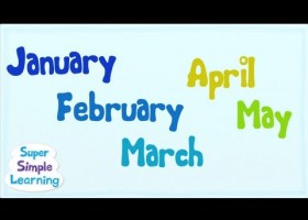 The Months Chant from Super Simple Songs? | Recurso educativo 111860