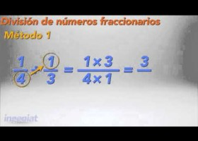 SEP MATE IS BII A2.4 Division de numeros fraccionarios | Recurso educativo 112878