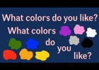 What colors do you like? | Recurso educativo 120847