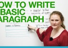 How to write a basic paragraph | Recurso educativo 121295