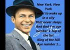 Fill in the gaps con la canción New York de Frank Sinatra | Recurso educativo 121902