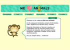 We love animals | Recurso educativo 67016