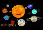 The Solar System Song (with lyrics) | Recurso educativo 736742