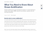 Acid Test: The Global Challenge of Ocean Acidification | Recurso educativo 742999