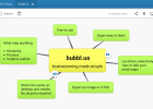 Bubbl.us | brainstorm and mind map online | Recurso educativo 754505