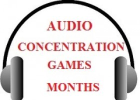 Audio Concentration Game: Months | Recurso educativo 762595