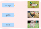 Vocabulario sobre los animales | Recurso educativo 769827