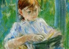 Portrait of the Artist's Daughter, Julie Manet, at Gorey, 1886 - Berthe | Recurso educativo 772505