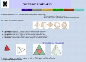 Poliedros regulares | Recurso educativo 776278